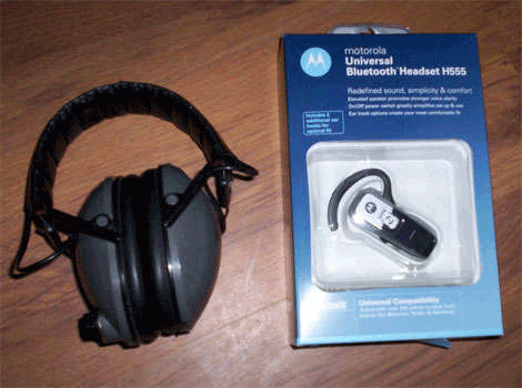 Blue Tooth BT bluetooth hearing protection