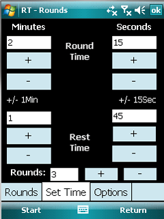 Windows Mobile Phone ringtimer ring timer main image